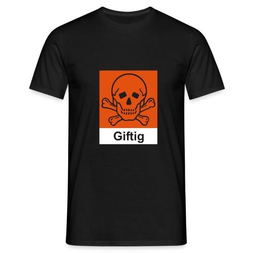 Comfort T (Giftig, schwarz) - Männer T-Shirt