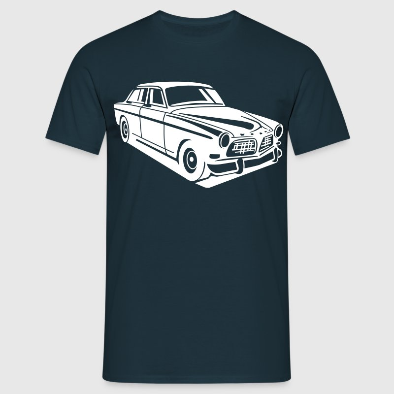 Navy Volvo Amazon Volvoamazon T-Shirts - Männer T-Shirt