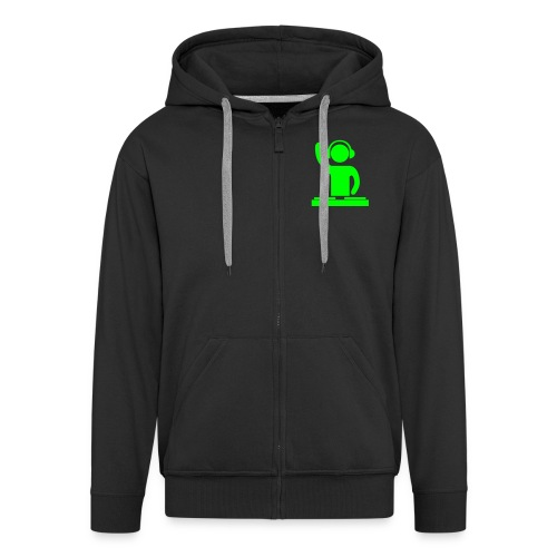dj - Men's Premium Hooded Jacket