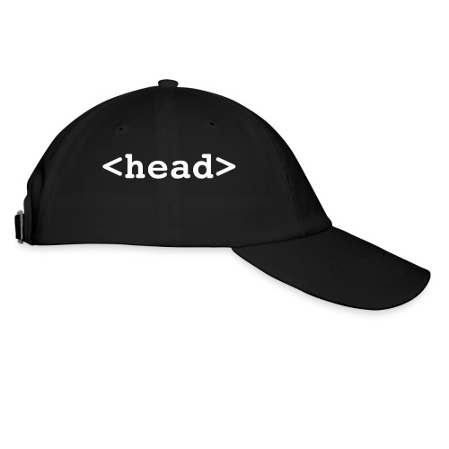 html headgear - Baseball Cap