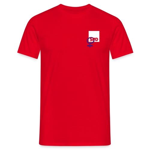 ASF T-Shirt mit Rückendruck - Männer T-Shirt