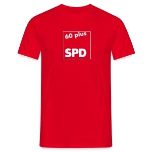 SPD 60 plus T-Shirt mit Rückendruck - Männer T-Shirt