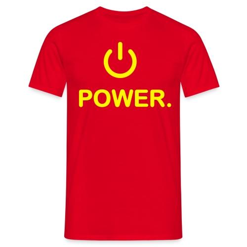 Power - Herre-T-shirt
