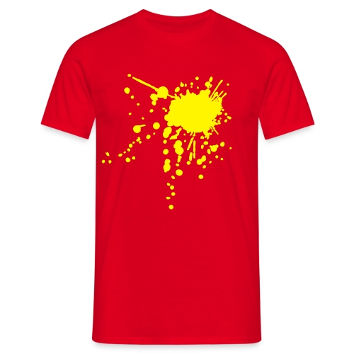 Splat - Herre-T-shirt