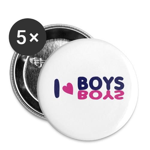 I  - Buttons/Badges stor, 56 mm (5-pack)