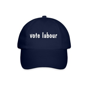 vote labour - Baseball Cap