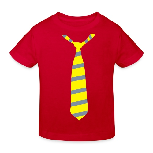 Krawatte-Kindershirt - Kinder Bio-T-Shirt