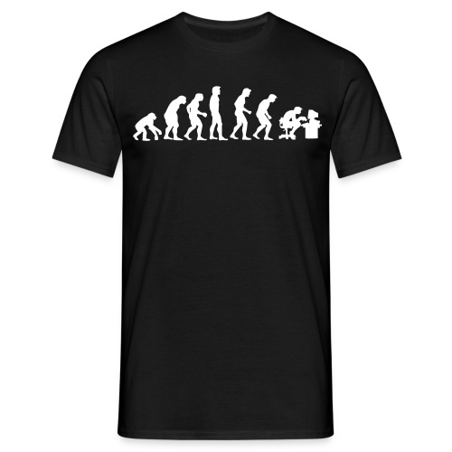 Evolution-Shirt (m) - Männer T-Shirt