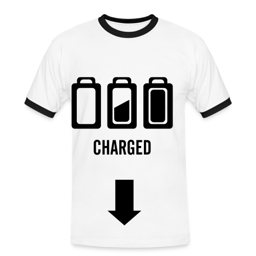 Charged-Shirt - Herre kontrast-T-shirt