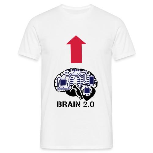 BRAIN - Herre-T-shirt