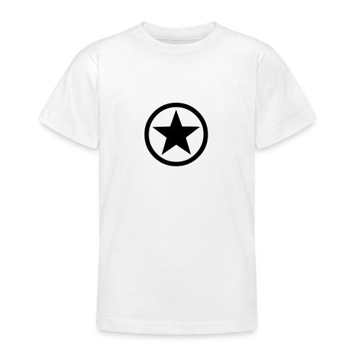 Star (black) - Teenage T-Shirt