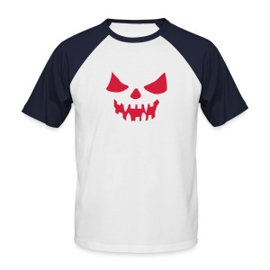 Scary Head Ned - Men's Baseball T-Shirt