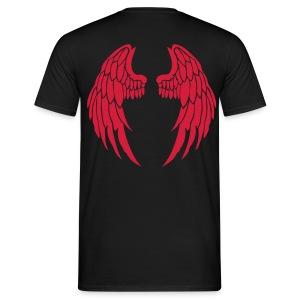 Engelsshirt Rot - Männer T-Shirt
