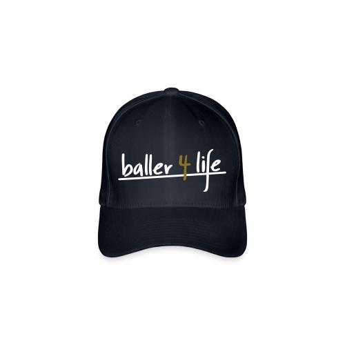 BasketBall Life - Czapka z daszkiem flexfit