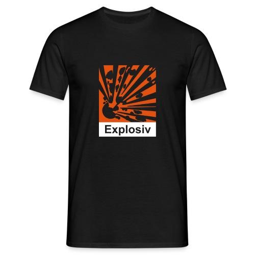 Comfort T (Explosiv, schwarz) - Männer T-Shirt