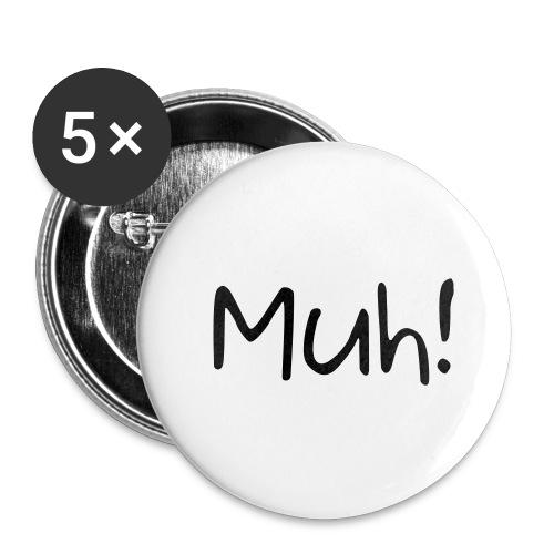 muh! - Buttons klein 25 mm