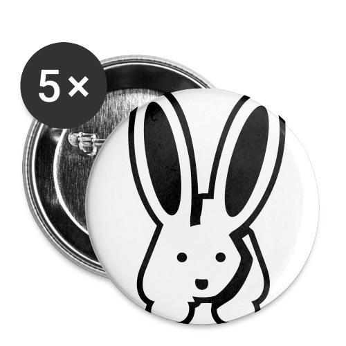 langohrhase - Buttons klein 25 mm