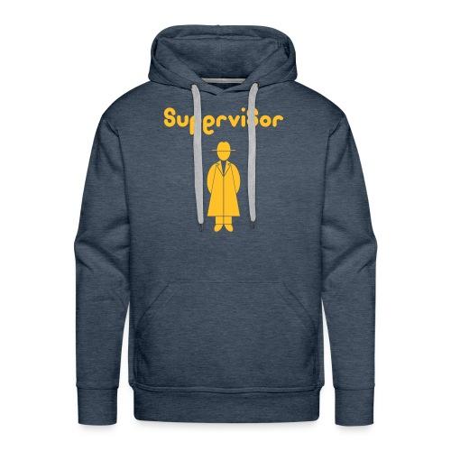Supervisor BY felpa uomo - NEW! - Felpa con cappuccio premium da uomo