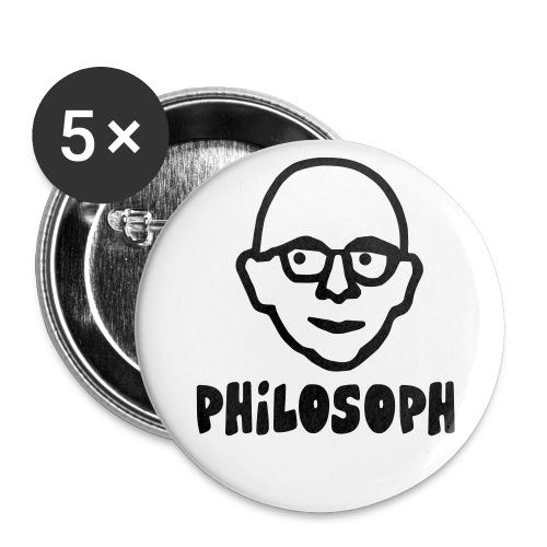 filosof - Buttons klein 25 mm