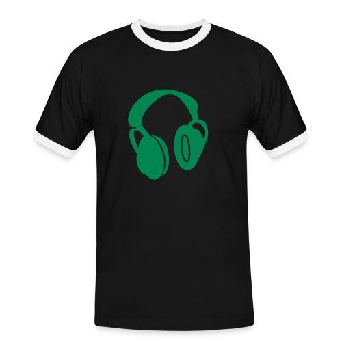sound - Männer Kontrast-T-Shirt