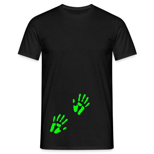 Touching Hand Herre - Herre-T-shirt