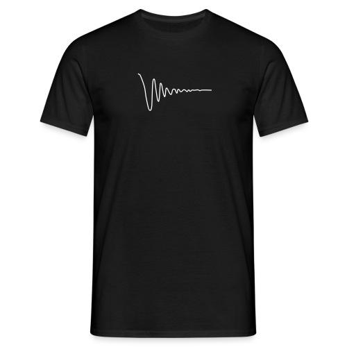 Svart dempet - T-skjorte for menn