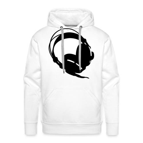 Kopfhörer - Männer Premium Hoodie