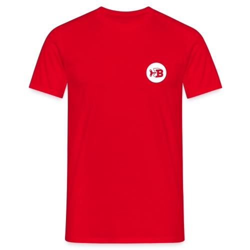 Biller Shirt Rot/Weiß - Männer T-Shirt