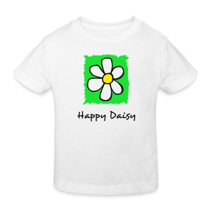 Kid's Tee - Happy Daisy - Green - Kids' Organic T-shirt