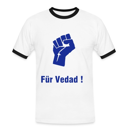 Veda Fist Sailor - Männer Kontrast-T-Shirt