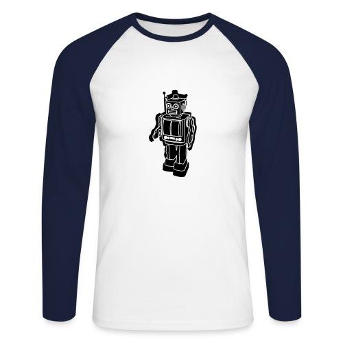 robotix - Men's Long Sleeve Baseball T-Shirt