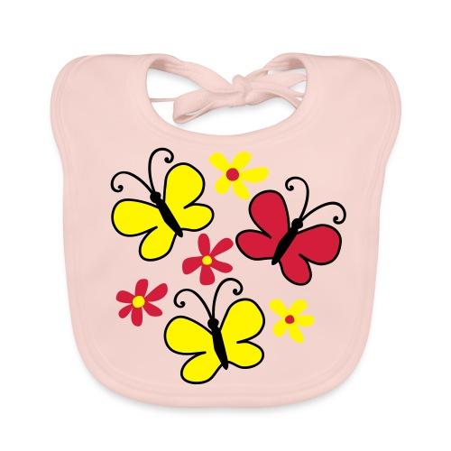 butterfly - Baby Organic Bib