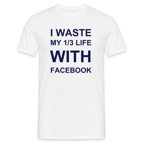 Addictive Facebook - Men's T-Shirt