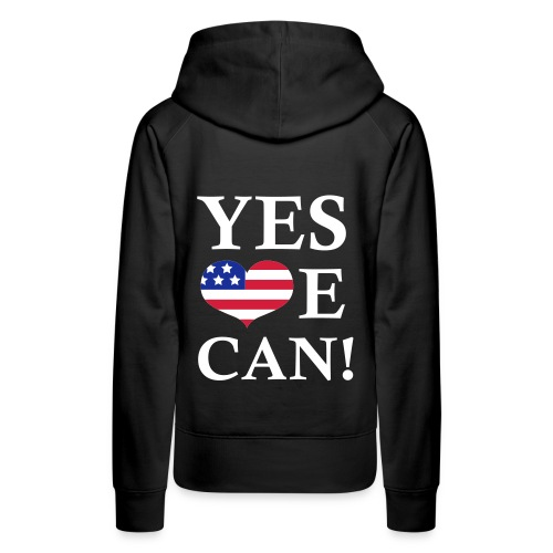 YES WE CAN! - Premiumluvtröja dam
