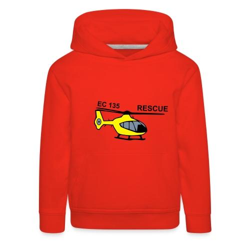 EC 135 RESCUE - Kinder Premium Hoodie