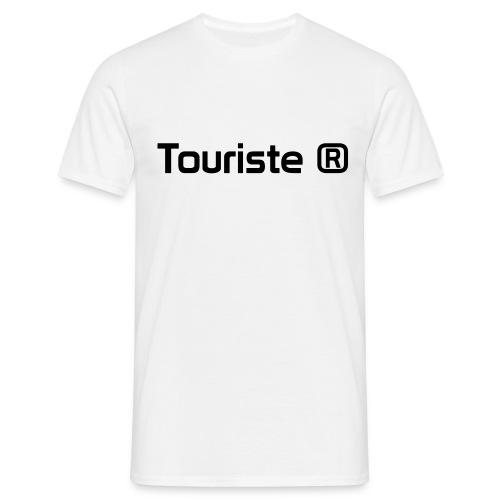 Touriste Registered - T-shirt Homme