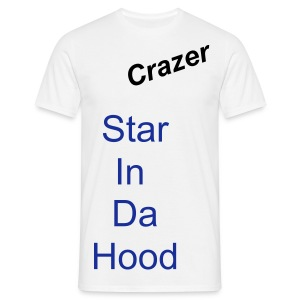 stah in your hood (opticnal name change) - Men's T-Shirt