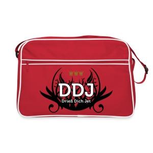 DDJ (Drieß Dich Jet) - Retro Tasche
