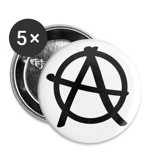 Chapa ANARCHY - Chapa grande 56 mm