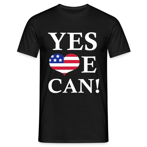 YES WE CAN! - T-shirt herr
