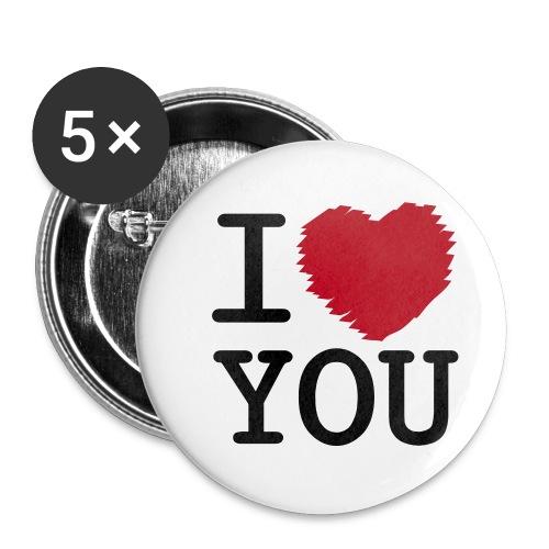 I'love you - Badge moyen 32 mm