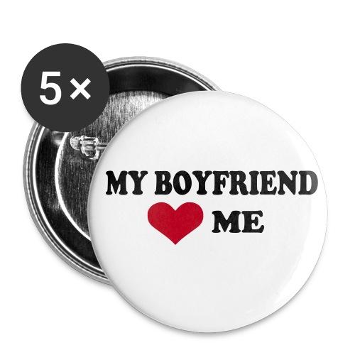 My boyfriend... - Badge moyen 32 mm