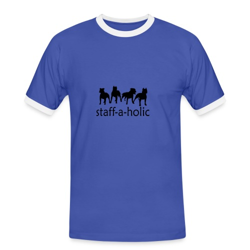 Staff-a-holic Men's ringer t-shirt - Men's Ringer Shirt