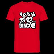 Camisetas ~ Camiseta hombre ~ 4 8 15 16 23 42... Bingo!!