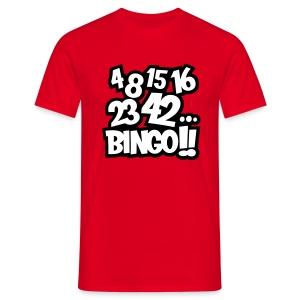 4 8 15 16 23 42... Bingo!! - Camiseta hombre
