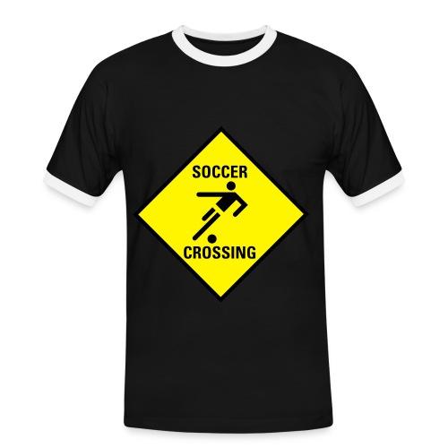 tshirt soccer crossing - Men's Ringer Shirt