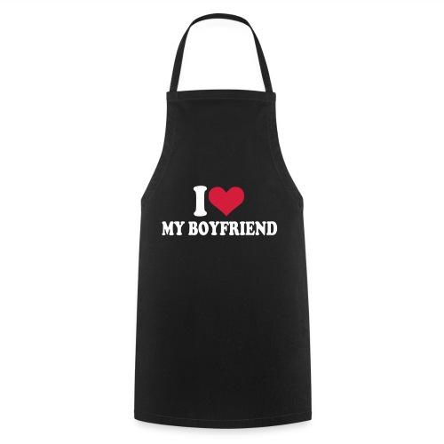 I Love My Boyfriend Apron - Cooking Apron