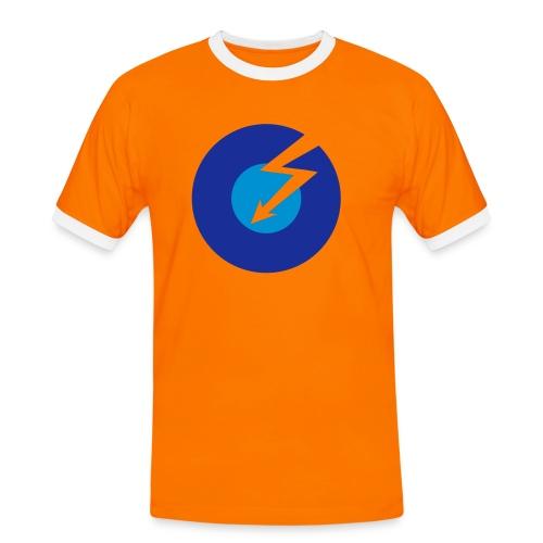 Lyn - Kontrast-T-skjorte for menn
