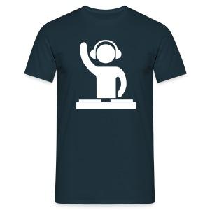 Navy Dj - Mannen T-shirt