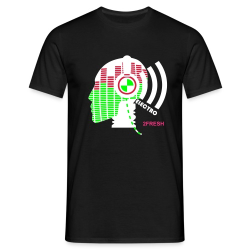 Electro by 2FRESH - Mannen T-shirt